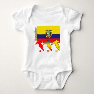 Soccer Ecuador Baby Bodysuit