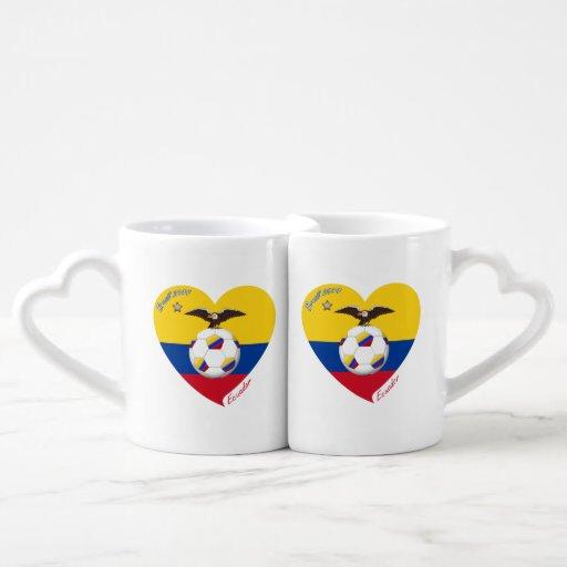 "Soccer ""ECUADOR"". Ecuadorian National Soccer Team Lovers Mug"