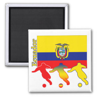 Soccer Ecuador Magnet