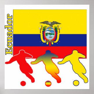 Soccer Ecuador Poster