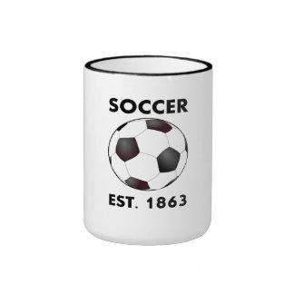 Soccer Est 1863 Coffee Mugs