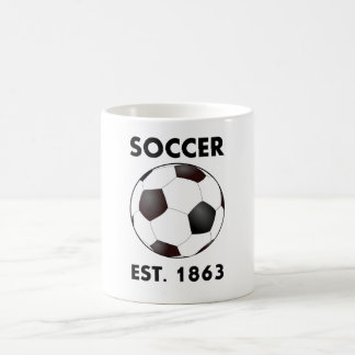 Soccer Est 1863 Coffee Mug