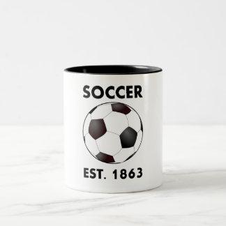 Soccer Est 1863 Mug