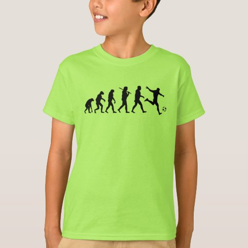 Soccer Evolution b T-shirt