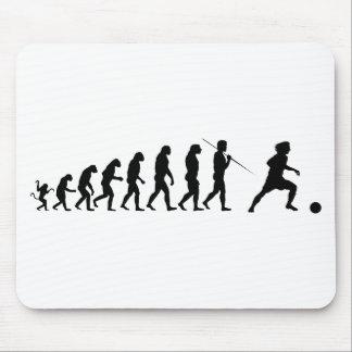 soccer_evolution mouse pad