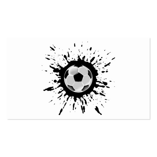 Soccer Explosion Business Card Templates