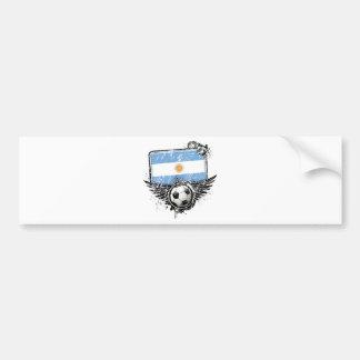 Soccer fan Argentina Bumper Sticker