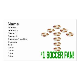 Soccer Fan Business Card Templates