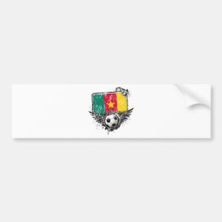 Soccer fan Cameroon Bumper Stickers