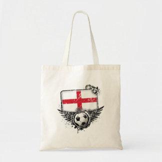 Soccer fan England Canvas Bag