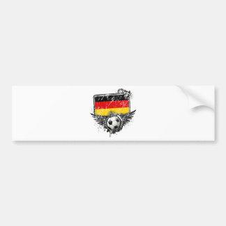 Soccer fan Germany Bumper Stickers
