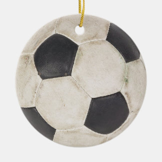 Soccer Fan Gift Idea Soccer Players Gifts Round Ceramic Decoration