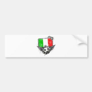 Soccer fan Italy Bumper Stickers
