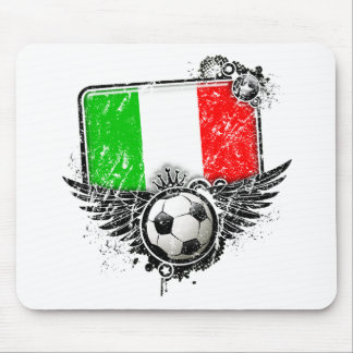 Soccer fan Italy Mouse Pad
