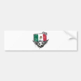 Soccer fan Mexico Bumper Stickers