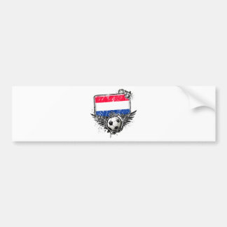 Soccer fan Netherlands Bumper Stickers