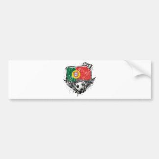 Soccer fan Portugal Bumper Sticker