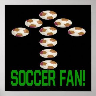 Soccer Fan Print