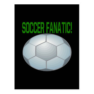Soccer Fanatic Postcard