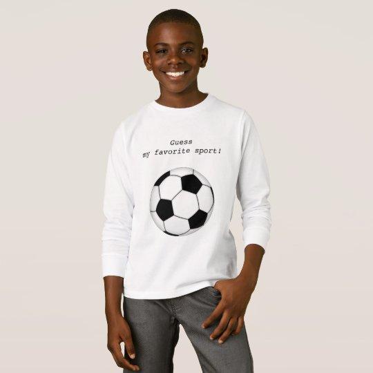 Soccer fans, football, favorite sport T-Shirt