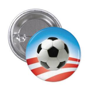 Soccer fans for Obama 2012 Pins
