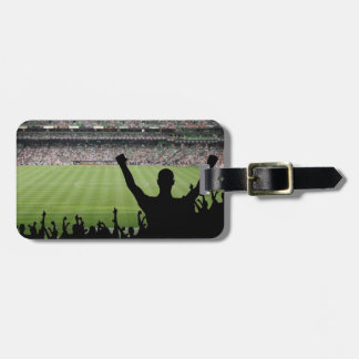 Soccer Fans Luggage Tag