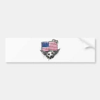 Soccer fans USA Bumper Stickers