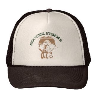 SOCCER FEMME CAP