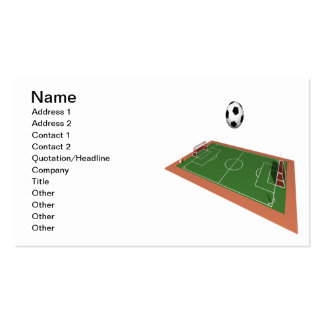 Soccer Field Business Cards