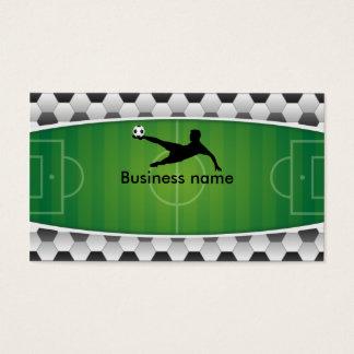 Soccer field business card