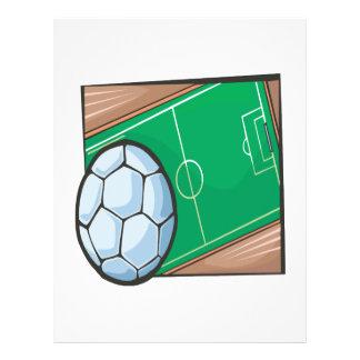 Soccer Field Flyer Design