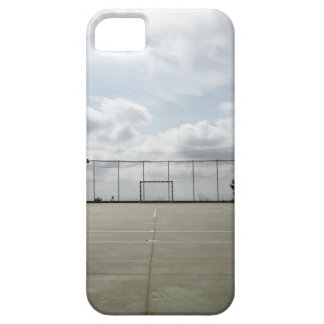 Soccer field in Barcelona, Spain Case For The iPhone 5