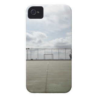Soccer field in Barcelona, Spain iPhone 4 Covers