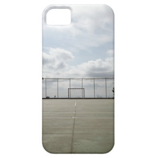 Soccer field in Barcelona, Spain iPhone 5 Cases