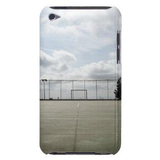 Soccer field in Barcelona, Spain iPod Case-Mate Case