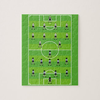 Soccer Field Jigsaw Puzzle