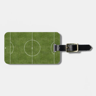 Soccer Field Luggage Tag