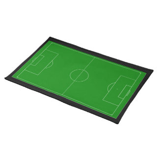 Soccer field placemat