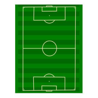 Soccer Field Post Card