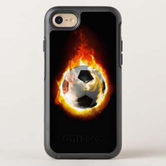 Soccer Fire Ball OtterBox Symmetry iPhone 8/7 Case