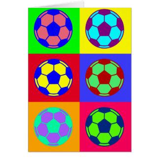 Soccer/ Football Art Card