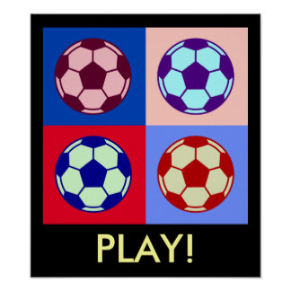 Soccer/ Football Art Poster