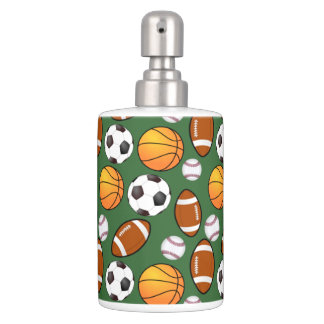 Soccer Football Baseball basketball Sports theme Bathroom Sets