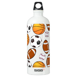 Soccer Football Baseball basketball Sports theme SIGG Traveller 1.0L Water Bottle