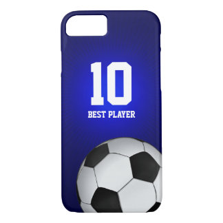 Soccer   Football Best Player Number iPhone 7 Case