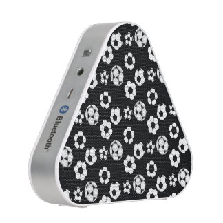 Soccer football black white pattern