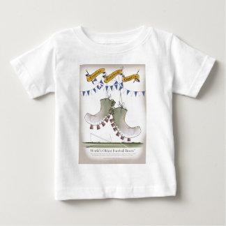 soccer football blue team boots baby T-Shirt