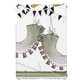 soccer football boots b + w team iPad mini covers