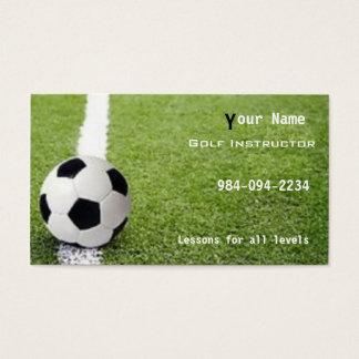 Soccer football business card