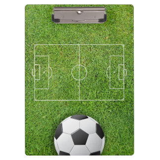 Soccer Football Coach Clipboard